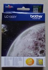 #) cartouche d'encre ink cartridge BROTHER LC1000Y YELLOW JAUNE