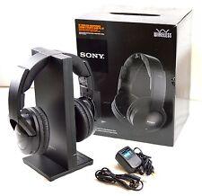 Sony MDR-RF985RK Wireless RF TV Stereo PC Universal RF Rechargeable Headphones