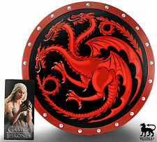 Game of Thrones Daenerys Targaryen Figure/Statue + BONUS Dragon War Shield - NEW