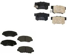Set of Front and Rear Disc Brake Pads Nissin For: Acura RSX Honda Civic S2000