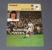 FOOTBALL 1977 OLYMPIQUE MARSEILLE OM VELODROME MARC BERDOLL