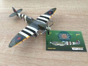 Gemini Aces GARAF1005 Spitfire Plagis RAF 126 Sqdrn aerial needs glueing no box
