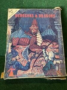 DUNGEONS & DRAGONS BASIC SET W /INTRODUCTORY MODULE TSR 1001