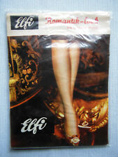Elfi Bas - les Atouts de Lang Véritable Nylon Vintage Noir Taille 3