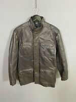 BEN SHERMAN LEATHER Jacket - Size Small - Brown - Great Condition - Men's