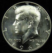 1965 SMS Special Mint Set 40% Silver Kennedy Half Dollar (B02)
