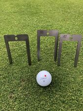 Outdoor Golf Putting Training Aid Gates