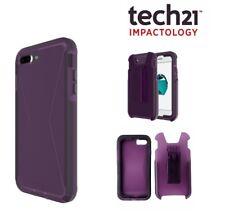 tech21 iPhone 7 Plus Case EVO Tactical XT Tough Rugged Cover FlexShock - Purple