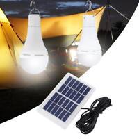 5 modos 20 COB USB luz Solar energía recargable bombilla lámpara de Camping
