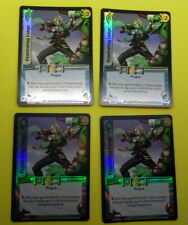 UFS Foil  Cards x4 - Soul Calibur - playset of Penetrating Lunge
