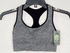 Champion C9 Duo Dry Women's Black Heather Seamless Sports Bra Size XS New