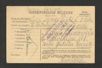 TUNISIA-SERBIA-TRAVELED MILITARY POSTCARD-MILITARY CENSORSHIP-BIZERTE-1917.