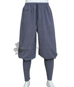 Summer Cotton Buddhist Monk Shaolin Kung fu Trousers Tai chi Pants New Design