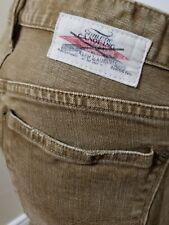 Ralph Lauren Blue Womens Madison 888 Brown Vtg Wash Jeans Tag Size 29 W 32 Rare