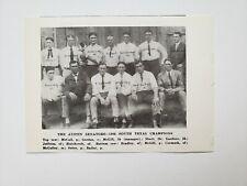 Austin Senators 1906 Baseball Team Picture RARE!