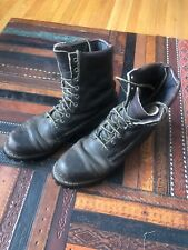 VINTAGE Red Wing Irish Setter Hunting/Work Boots, Made in USA, Mens Size 10 B