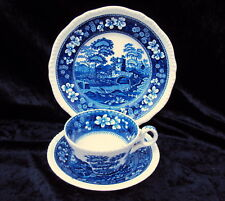 "***  Spode ""Blue Tower"" - 1 Kaffee-/Teegedeck 3tlg. ***"