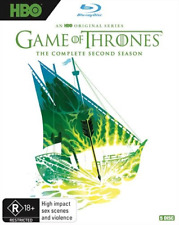Game Of Thrones - Season 2 - Limited Edi (Blu-ray, 2018, 5-Disc Set) (Region B)