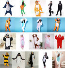 2015 Adult Kids Unisex Pajamas Kigurumi Onesie Animal Sleepwear Cosplay Costume