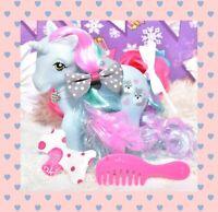 ❤️My Little Pony MLP Vtg G1 Style HQG1C Unicorn Puppy Love Dog Custom Matte❤️