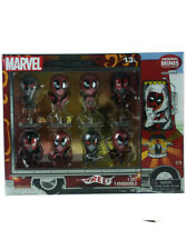 Marvel Deadpool Chimichanga Truck 8-Figure Set Metallic Amazon Exclusive New