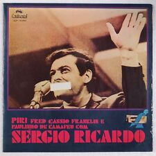SERGIO RICARDO: CALABOUCO w/ Piri CONTINENTAL Brazil ORIG Folk Psych '73 LP