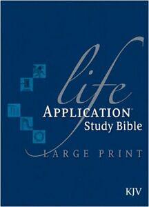 Life Application Study Bible Kjv Large Print by Tyndale