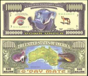 DOWN UNDER AUSTRALIA 🦘🐨🐊 Koala, Kangaroo, Crocodile 🦘🐨🐊 Buy More 💲 Save