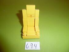 Lego - 5571-Team-Black-cat: 1 Siège Jaune