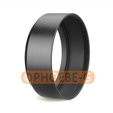 67mm Standard Metal Black Lens Hood for Canon Nikon Sony Pentax