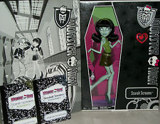 Monster High Scarah Screams Hoodude Voodoo Doll Comic con SDCC horror goth Xmas