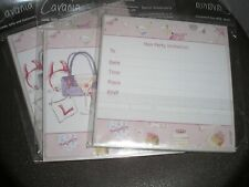 Hen Party Invitations - 18 Cards & Envelopes.
