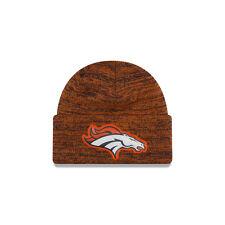 Denver Broncos Men's New Era Bevel Knit Beanie Hat