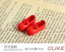 New RED Bulk shoes for BLYTHE AZONE LICCA DOLL-015