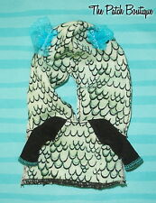MONSTER HIGH ORIGINAL FAVORITES LAGOONA BLUE DOLL OUTFIT REPLACEMENT JACKET ONLY