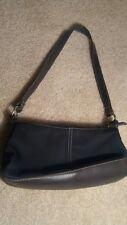 Victoria's Secret Classic Simple Black Canvas Small Purse Bag, Simply Gorgeous!
