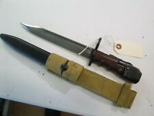 Wwii British Jungle Carbine Bayonet With Scabbard 1943 Frog Makers Mark #P181