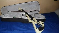 Barcelona Electric violin white Full Size