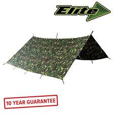 Elite Evolution Military Basha 3 x 3m British DPM Shelter Waterproof Army Tent