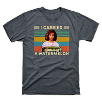 I Carried A Watermelon Dancing Vintage Retro Men's Short Sleeve Tee T-Shirt