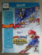Mario & Sonic at the Olympic Winter Games Sochi 2014 Bundle Nintendo Wii U - NEW