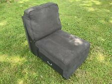 Ashley Furniture Alenya Charcoal Armless Chair Sectional Couch Extension Add-on