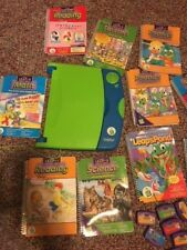 LeapFrog LeapPad Learning System with 10 Books and 10 Cartridges Model 30004