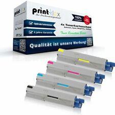 4x XXXL Tonerkartuschen für OKI C-3530-MFP - Rainbow Kit - Toner Quantum Serie
