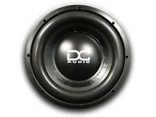 "DC AUDIO Level 2 12"" 4 ohm Dual Voice Coil Subwoofer 600/1200 Watt NEW"