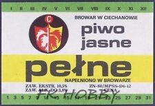 Poland Brewery Ciechanów Jasne Beer Label Bieretikett Etiqueta Cerveza ci43.1