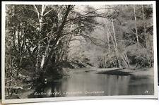 CAZADERO, CALIFORNIA Photo Post Card, Sonoma County AUSTIN CREEK, 1920s-30s