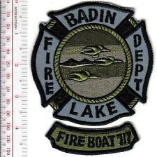 Fire Boat North Carolina City of Badin Lake Fire Department 717 Fireboat Marine