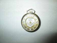 Vintage Estate Sale Lucerne Watch Pendant in Good Working Condition Swiss Made