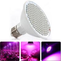 Useful E27 24W 200LED Grow Lamp Veg Flower Indoor Hydroponic Plant Full Spectrum
